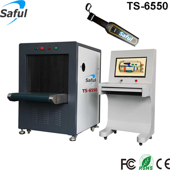 Super clear images airport x-ray baggage inspection scanner TS-6550