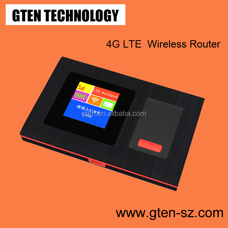 Mobile WiFi Hotspots 4G SIM Router WIFI for cell phone notebook tablet pc