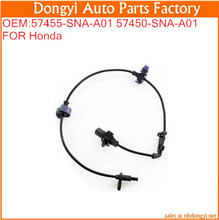 High Quality Front Left/Right ABS Wheel Speed Sensor OEM:57455-SNA-A01 57450-SNA-A01