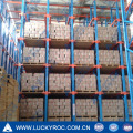 warehouse storage metal heavy duty pallet drive in rack from China