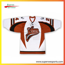 NHL custom v-neck ice hockey jerseys for national leagues
