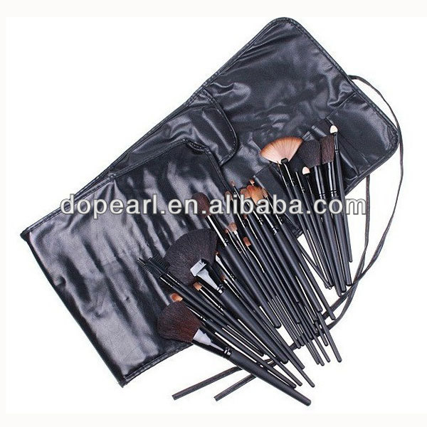 Pro 32 pcs makeup brush set without any logo complete cosmetic brush
