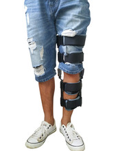 FULI FLX-008 Orthopedic ROM Post-op Knee Brace Broken Leg Brace with foot
