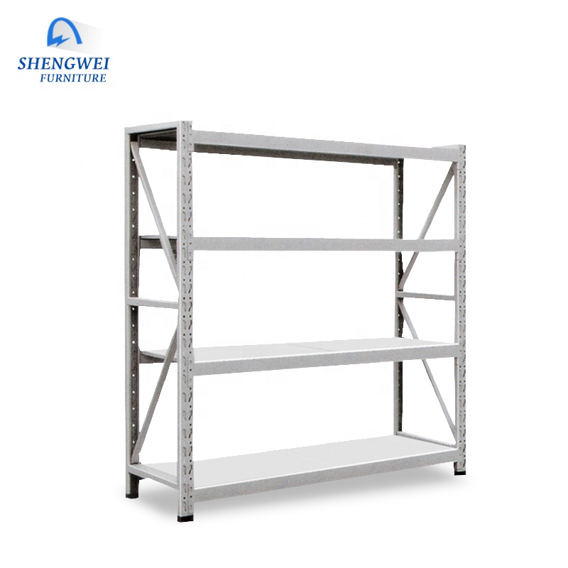 Customized durable shelf steel plate warehouse storage shelf metal <strong>rack</strong>