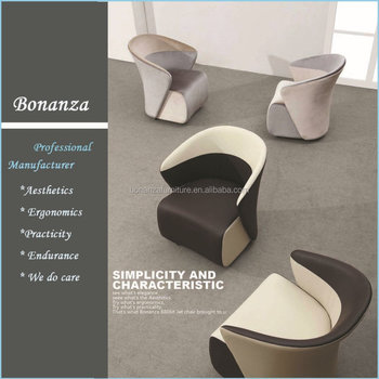 8806#modern design armchair leather furniture modern armchair design