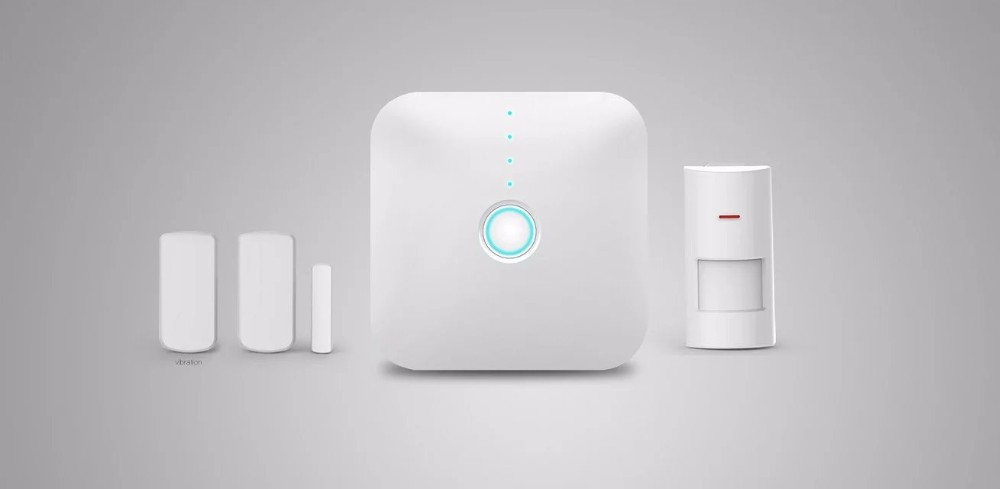 Wifi gateway Alarm New arrival! High quality Wireless home alarm system Intelligent perimeter security system+Sensor