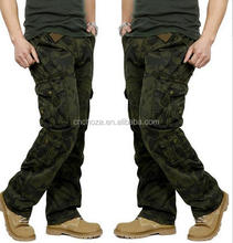 Z59371B Match Cargo Pants Men's Military Casual Pants Baggy Long Cargo Pants