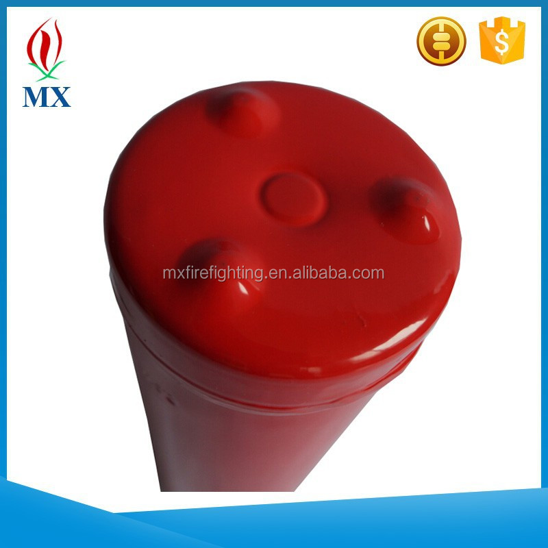 fire extinguisher tank with foot bottom