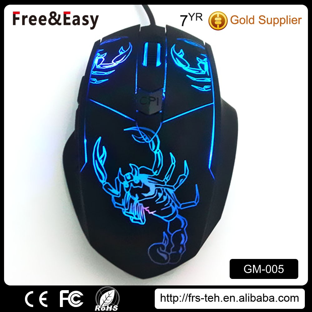 OEM high quality usb receiver popular wired mouse gaming