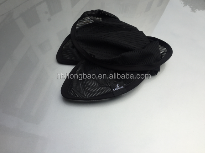 Promotional mesh sunshade/car curtain/car window sunshade