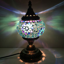 2015 New Design home decorative (TC1M02) turkish mosaic table lamp