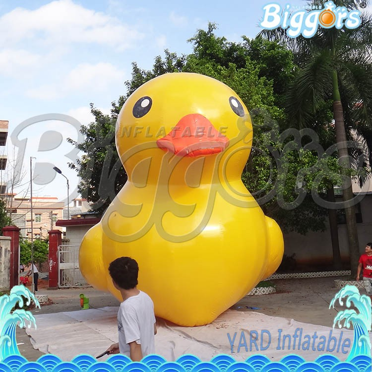 Exhibition Promotional Giant Inflatable Advertising Floating Yellow Duck