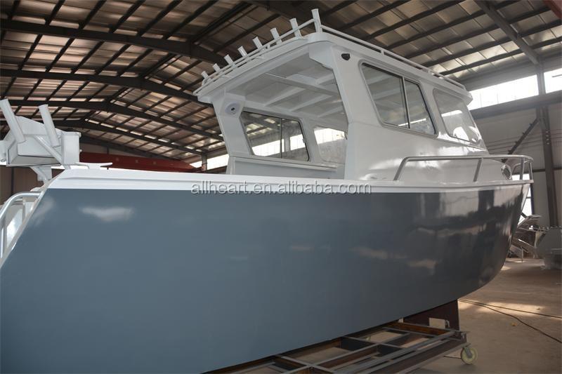 Aluminum cabin boat for sale buy aluminum for Aluminum boat with cabin for sale
