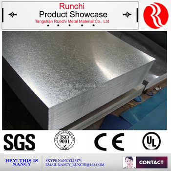 Hot sale steel sheet galvanised 1mm thick galvanized steel sheet