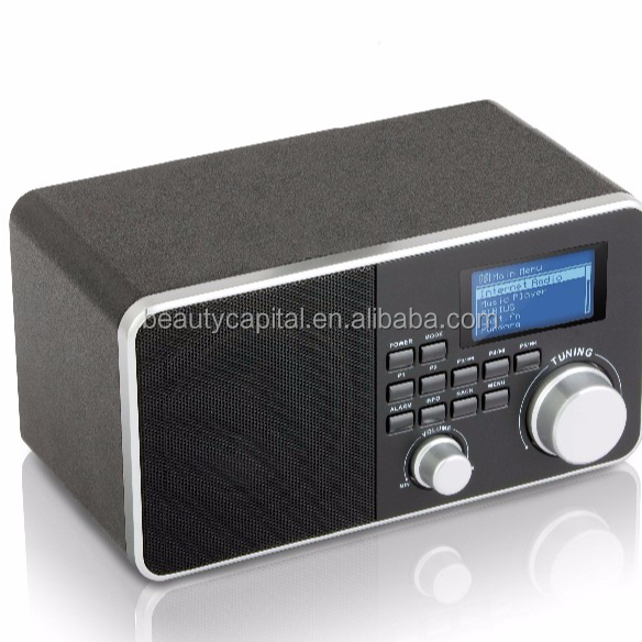 BC-800WF Table Wifi Internet digital audio broadcasting Vintage Style DAB/ DAB+ Radio