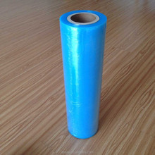 Plastic power wrap stretch film, indian blue film for industry