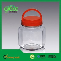 Octagon BPA/FDA Free Plastic PET Containers
