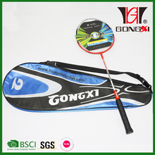 GX-503 RED hot sell customer brand name badminton racket/steel frame of badminton racket/racquet