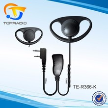 Cheap D shape Headset Portable Handy Radio Earpiece For SFE S820 S830 S850 S860 S510 S560 S580 S850 S880 S750 D shape Headset