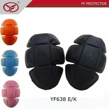motorcycle elbow knee protector soft pads