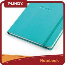 High quality colorful customized a4 pu leather hardcover notebook