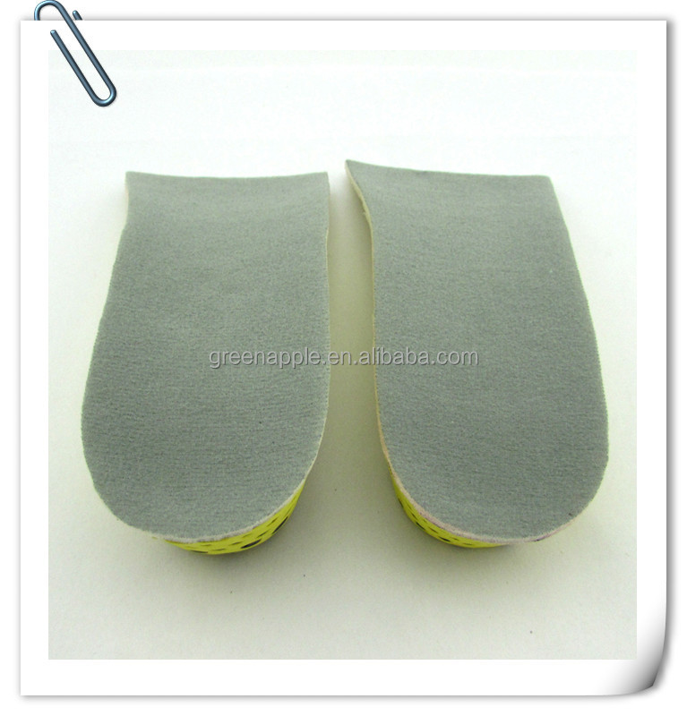 Yoko Height Increase Elevator Lady Heel Lifts Insole Increasing Shoe Inlays Soles