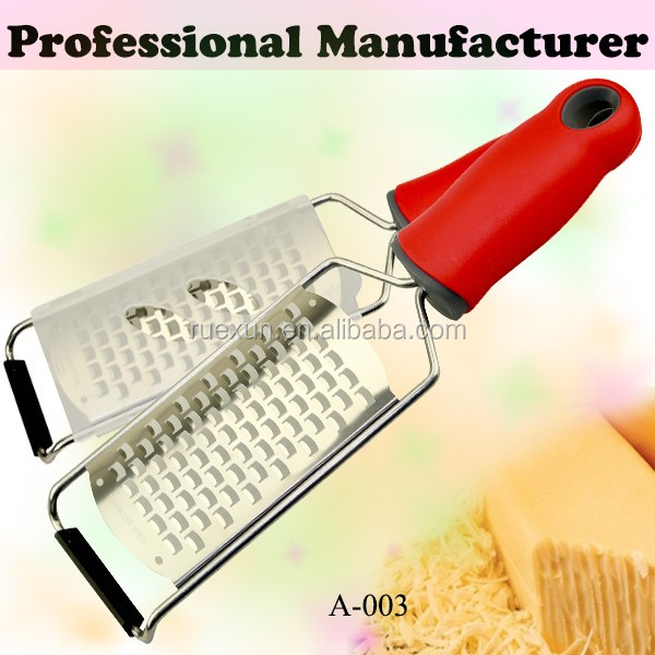 high quality stainless steel etching fruit vegetable grater