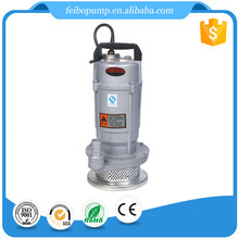 China manufacturer QDX electric water pump 0.5hp 0.37KW submersible pump prices in india