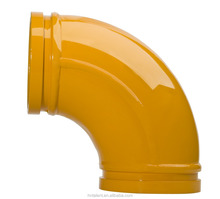 double wall wear-resisting concrete bend pipe /elbow pipe bend pipe joint /concrete pump pipe elbow