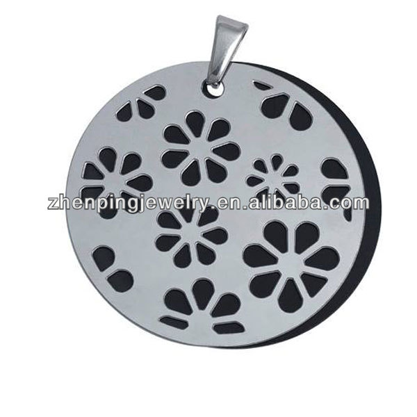 The old movie projector hollow out round style pendant