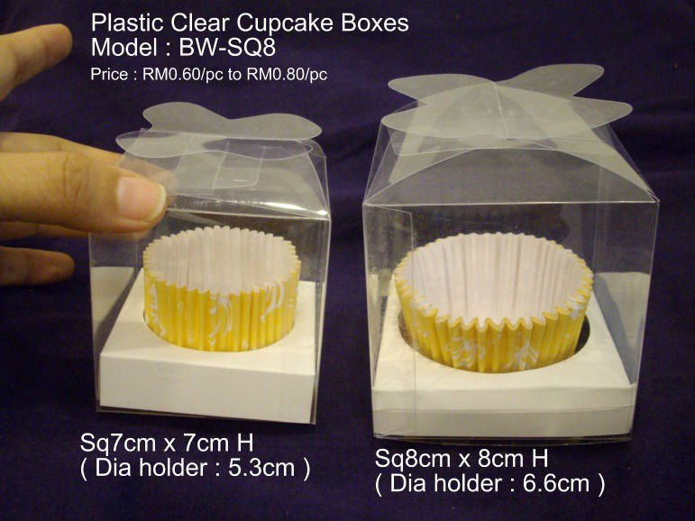 Plastic Clear Wedding Gift Boxes