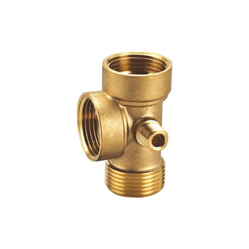 foeged brass 4 way connector