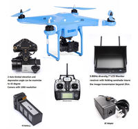 Rc quadcopter with wireless camera and gps professional aerial photography drone