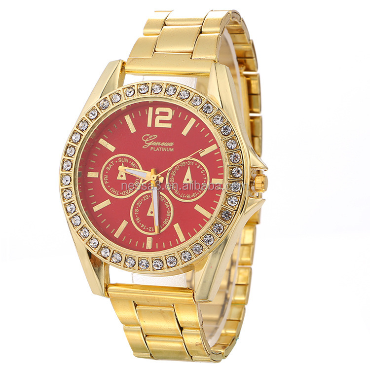 Fashion Gold Watch Wholesale NSWH-0009