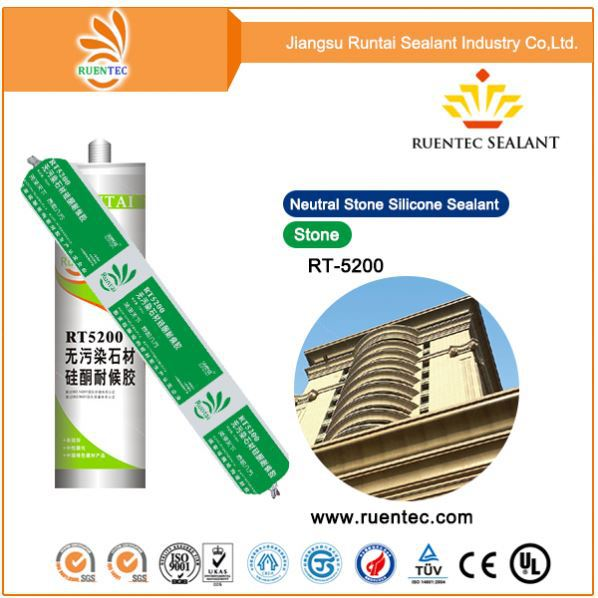 Transparent Structural Silicone Sealant/Rubber Silicone Manufacturer/China Factory Silicone