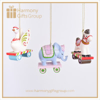 Resin Baby Bed Hanging Toy Baby Shower Decorations