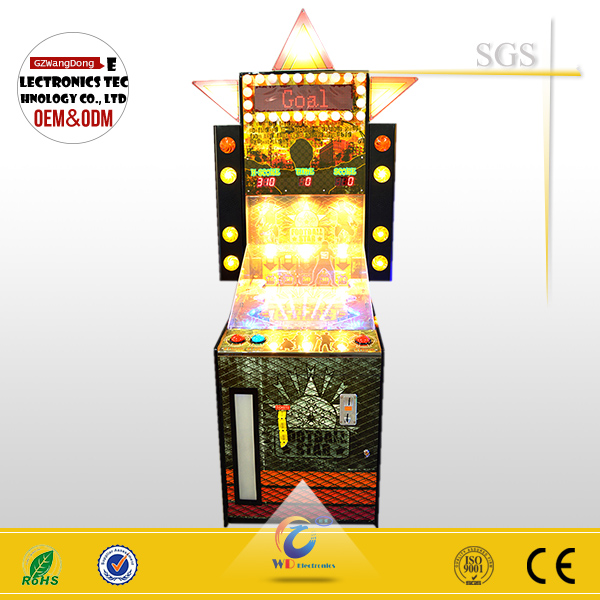 coin electronic arcade lottery game machine, electronic football game, educational football games