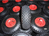 small plastic wheels pneumatic tires 3.00-4