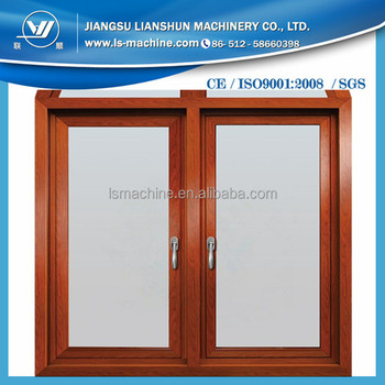 Good Performance PVC UPVC Window Profile Manufacturing Machine with Price