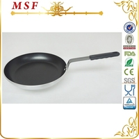 Convenient non stick cake pan press aluminum divided frying pan