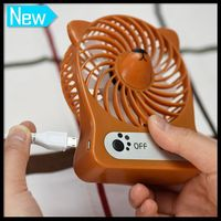 2016 New Product Portable Water Mist Spray Hand Held Usb Fan