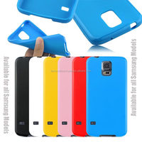 New Gel TPU Silicone Case Cover Pouch Bumper Wallet for Samsung Galaxy S4 IV i9500 / Galaxy S5 V i9600 Blue