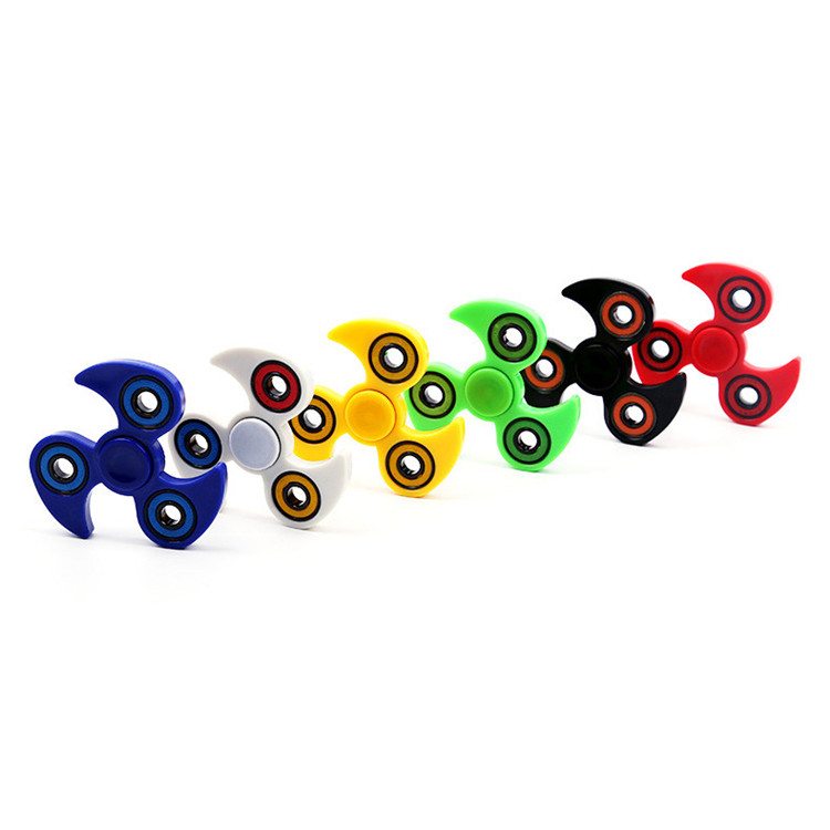 Hot sale factory price fidget led hand finger spinner toys