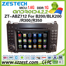 ZESTECH android car dvd for Benz A160/ A180/ B200/ Vito/ B150/ B170 Car DVD bluetooth android 4.2.2