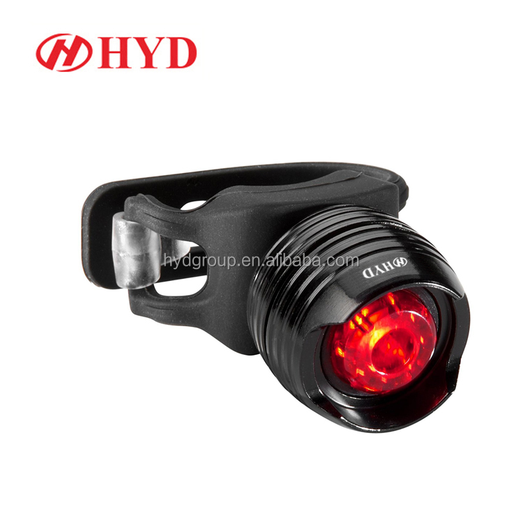 HYD80805 Bestseller amazon Aluminum Colorful LED rear bike light bicycle rear light best bike tail light for kids night riding