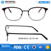 New promotion excellent Wenzhou high quality metal temple glasses cheap price fashionoptical spectacle frames