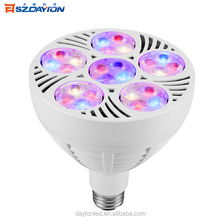 New Product Full Spectrum CE E27 Bulb Led Grow Light For Greenhouse Par light Led Grow Light 60W