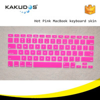 Universal custom folding keyboard skin for apple macbook silicone colorful