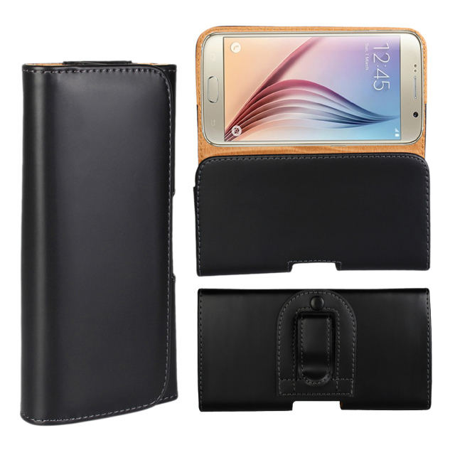 Phone Cases Horizontal Belt Clip Holster PU Leather Hanging waist Pouch Case Cover for iPhone 6 6s 7 Plus 4.7'' 5.5'' 5s se 4s