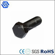 highly class 8.8 10.9 12.9 black hex bolt for industrial bolts hexagon head screw